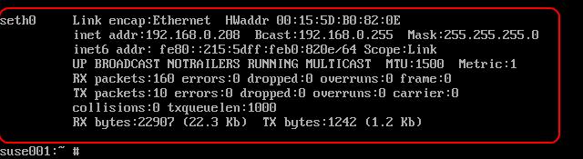 Hyper-V Linux IC ifconfig